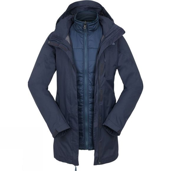 The North Face Womens Solaris Triclimate Jacket Urban Navy/Shady Blue