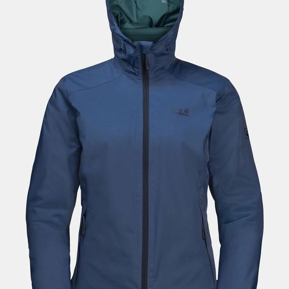 Jack Wolfskin Womens Gotland 3-in-1 Jacket Porcelain Blue