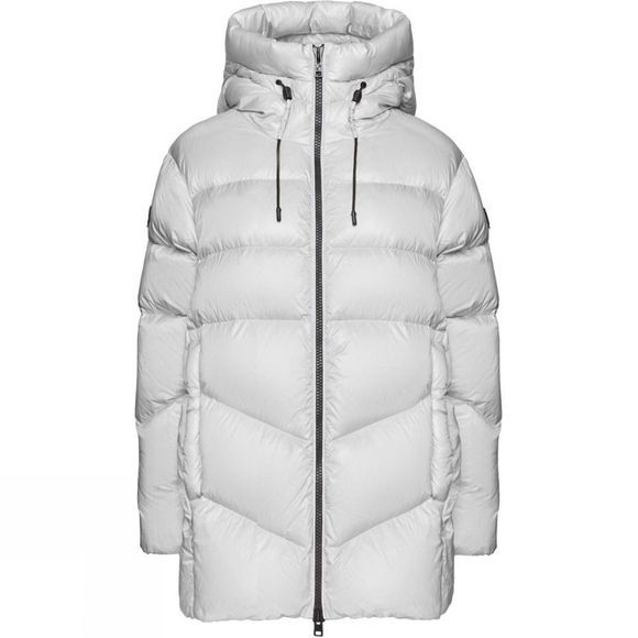 Woolrich Womens Packable Birch Jacket Moonstone