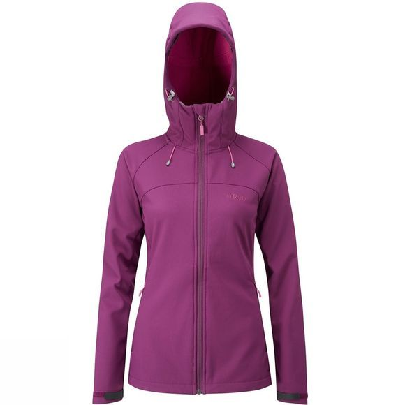 Rab Women's Salvo Jacket Berry/ Tayberry