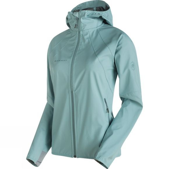Mammut Women's Ultimate Light SO Hooded Jacket Air