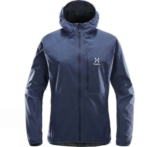 Haglofs Womens L.I.M Proof Jacket Tarn Blue