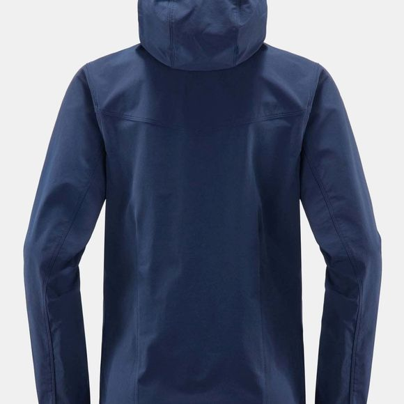 Haglofs Womens Natrix Hooded Jacket Tarn Blue