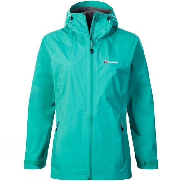 Berghaus Womens Deluge Pro Shell Jacket Tahitian Tide