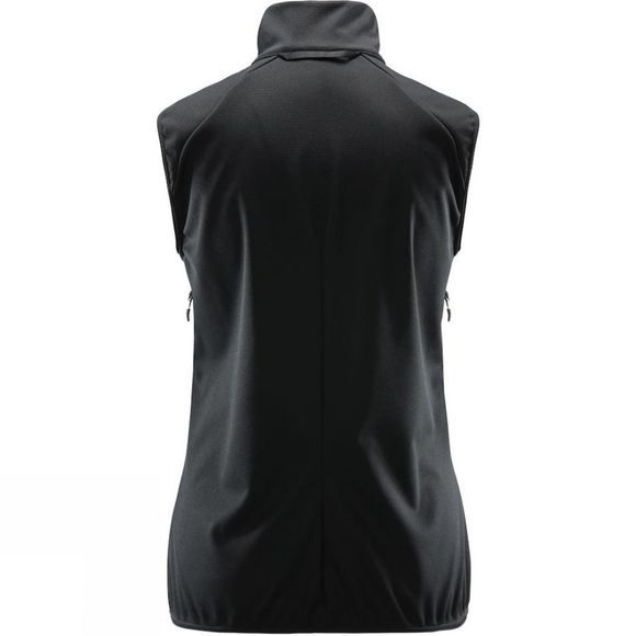 Haglofs Womens Multi Windstopper Vest True black