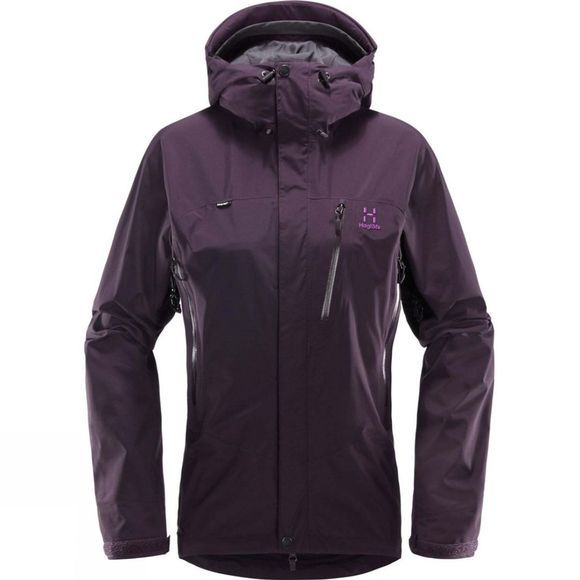 Haglofs Womens Astral Jacket Acai Berry