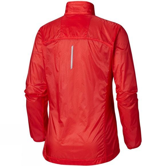 Columbia Womens F.K.T. Wind Jacket Cherrybomb, Red