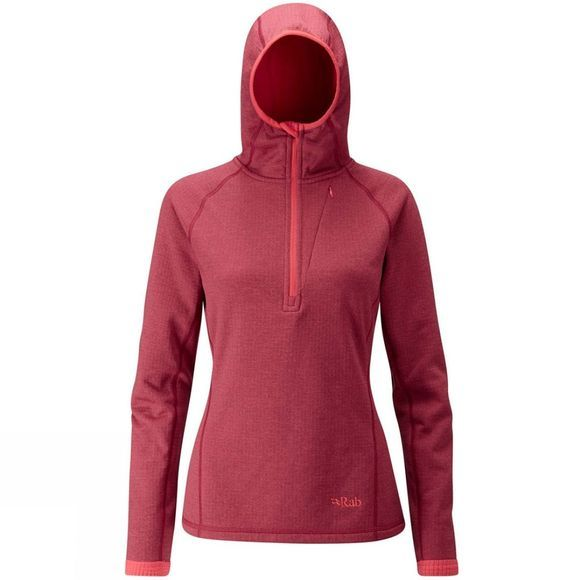 Rab Women's Nucleus Fleece Hoody Rococco