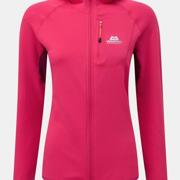 Mountain Equipment Womens Eclipse Hooded Jacket VPink/Cranberry