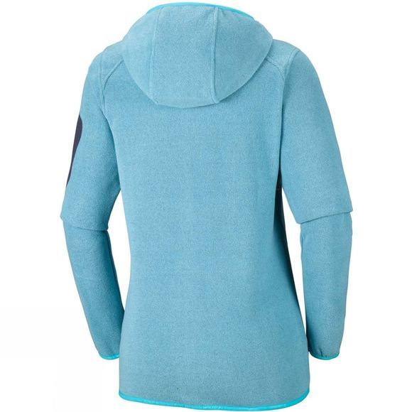 Columbia Womens Outdoor Novelty Hooded Fleece Atoll