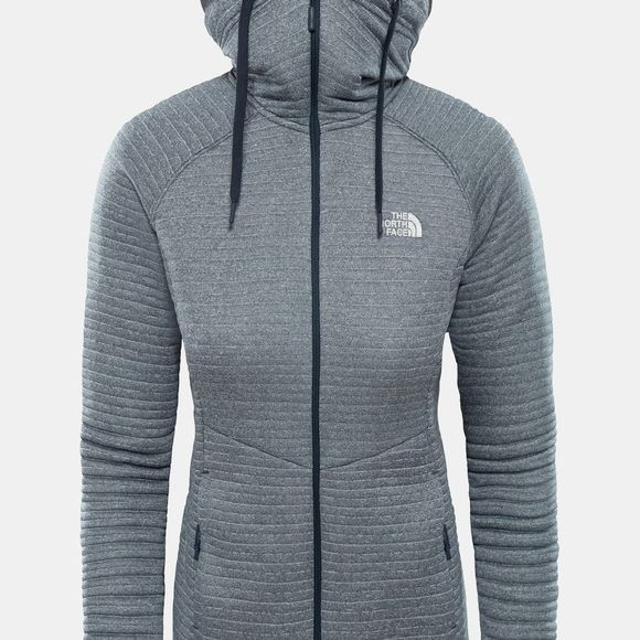 The North Face Womens Hikestellar Midlayer Fleece Urban Navy/ Tin Grey