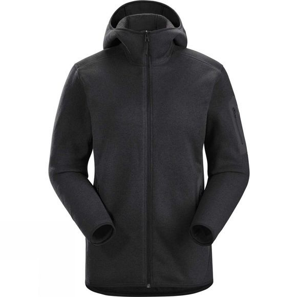 Arc'teryx Womens Covert Hoody Black Heather