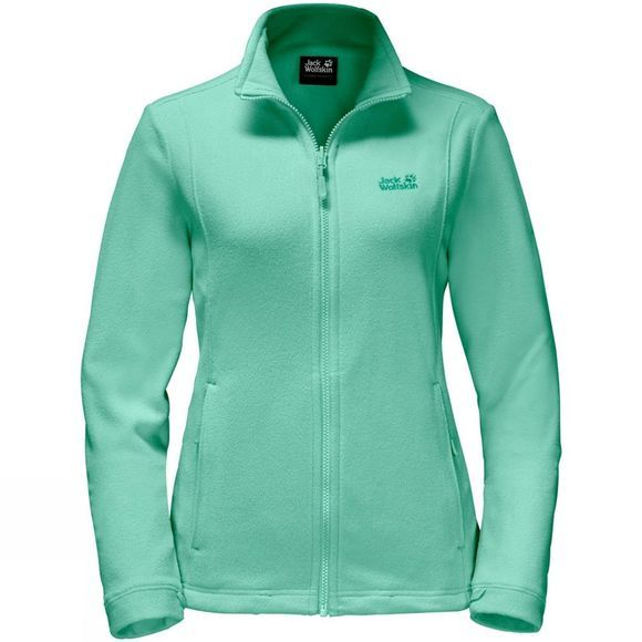 Jack Wolfskin Womens Kiruna Fleece Pale Mint
