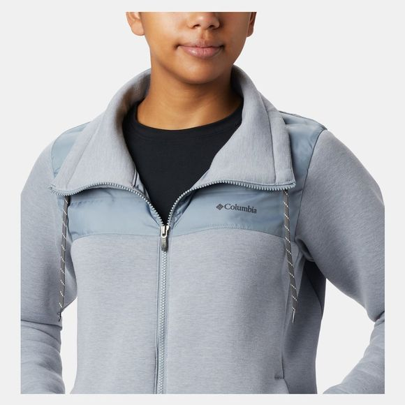 Columbia Womens Northern Comfort Hybrid Jacket Tradewinds Grey