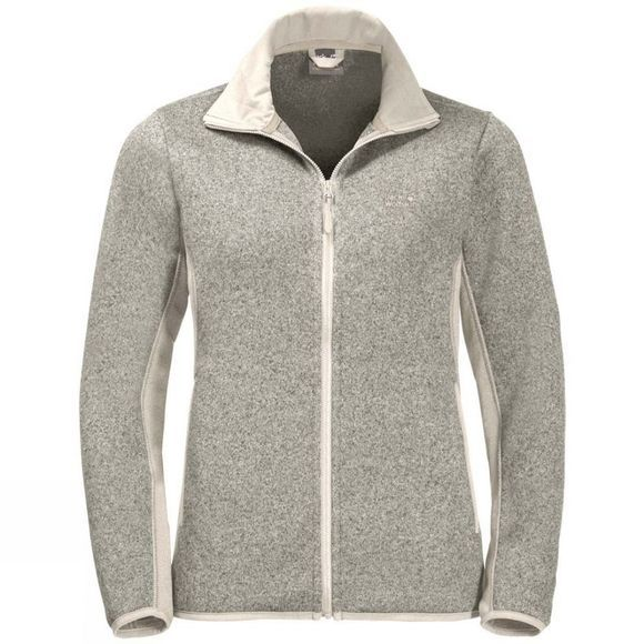 Jack Wolfskin Womens Elk Lodge Jacket White Sand