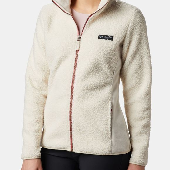Columbia Womens Panorama Full Zip Fleece Chalk