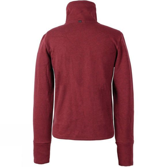 Didriksons Womens Mikaela Jacket Deep Red