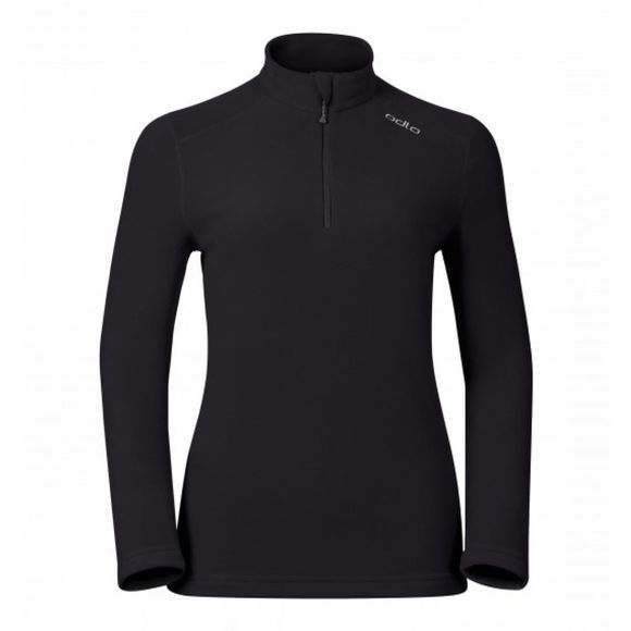 Odlo Womens Le Tour Pullover Half Zip Black