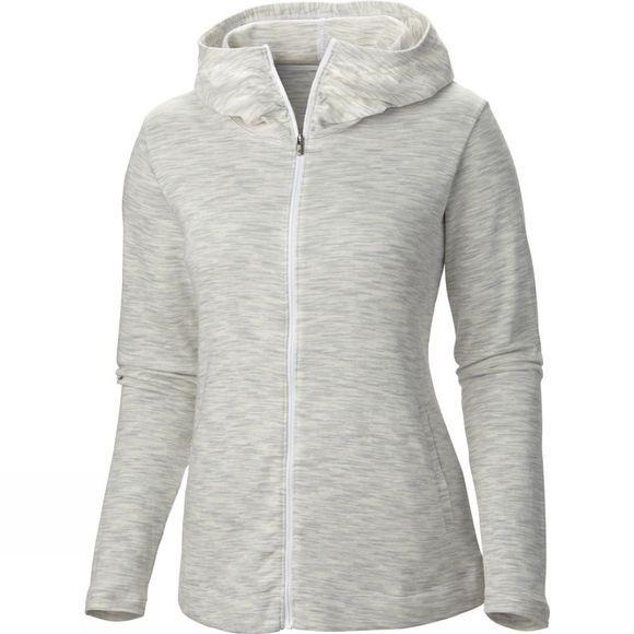 Columbia Women's OuterSpaced Full Zip Hoodie White Spacedye