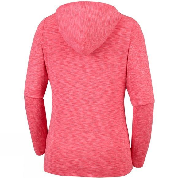 Columbia Women's OuterSpaced Full Zip Hoodie Coral Bloom Spa