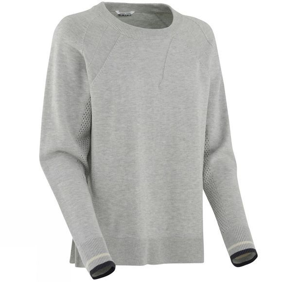 Kari Traa Womens Tveito Long Sleeve Top Grey