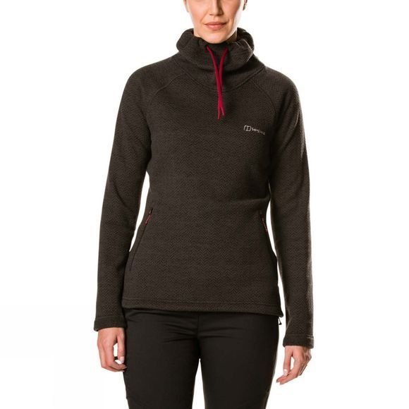 Berghaus Womens Canvey Fleece Jet Black/Carbon