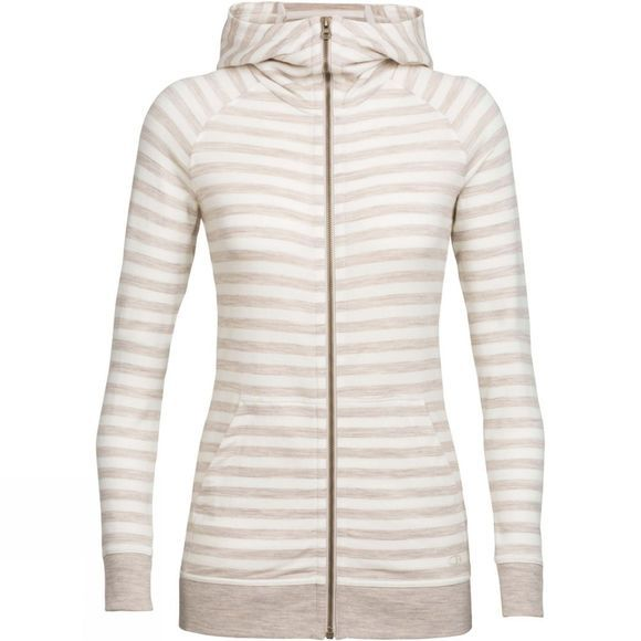 Womens Crush Long Sleeve Zip Hoody