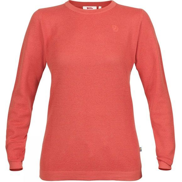 Fjallraven Womens High Coast Merino Sweater  Dahlia