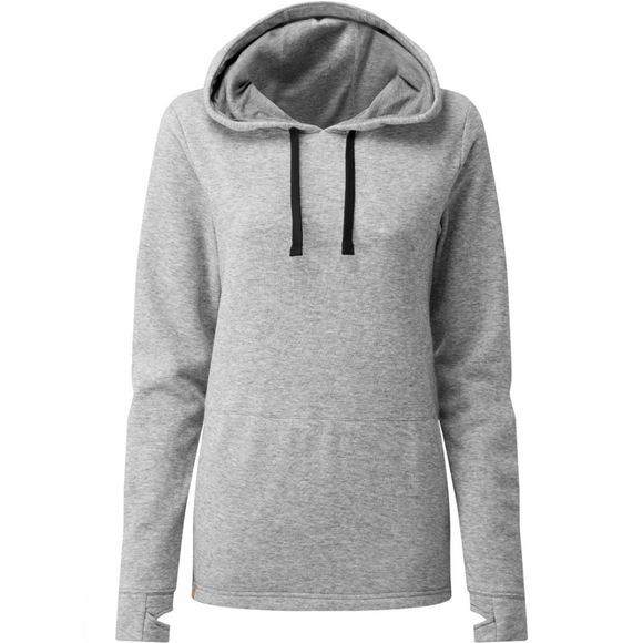 Tentree Womens Destination Hoodie Hi Rise Grey