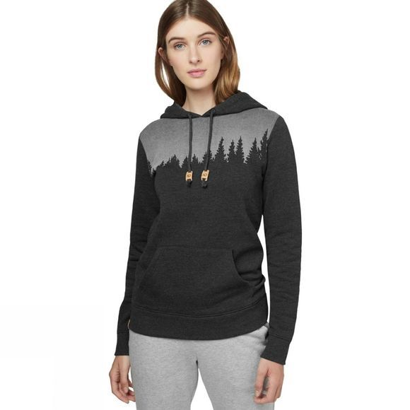 Tentree Women's Juniper Hoodie 2019 Meteorite Black Heather