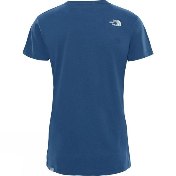 The North Face Women's Short Sleeve Easy Tee Blue Wing Teal