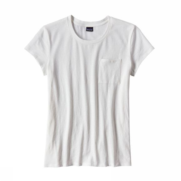 Patagonia Womens Mainstay Tee White