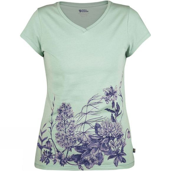 Fjallraven Womens Meadow T-Shirt Lagoon