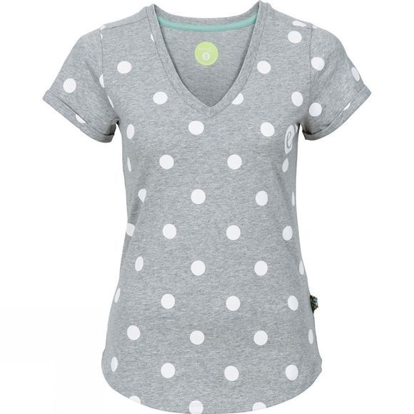 Edelrid Womens Rockover Tee Dots
