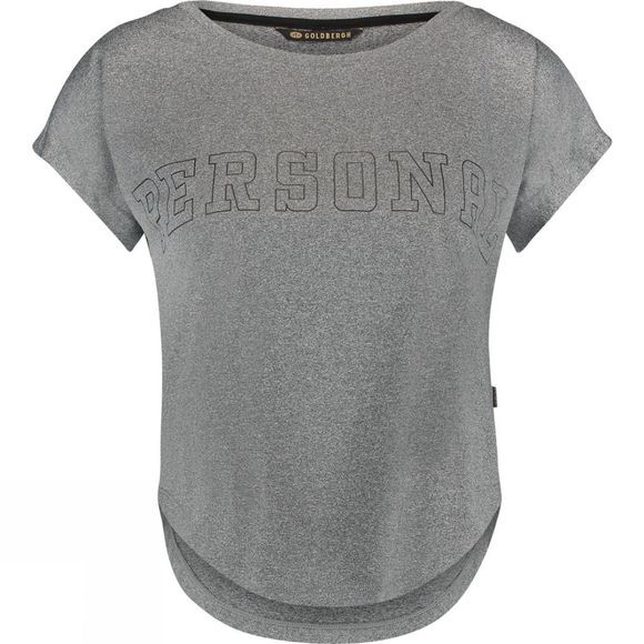 Goldbergh Womens Chase Tee LIGHT GREY MELANGE