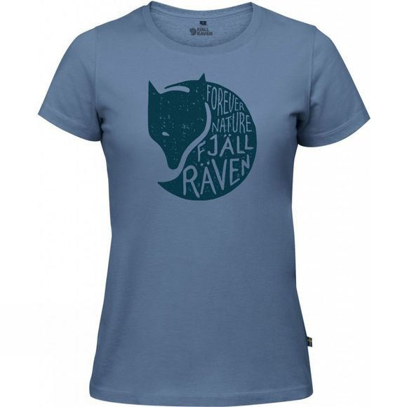 Fjallraven Womens Forever Nature T-Shirt BLUE RIDGE