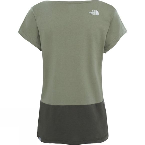 The North Face Womens Redbox Short Sleeve Tee Deep Lichen Green
