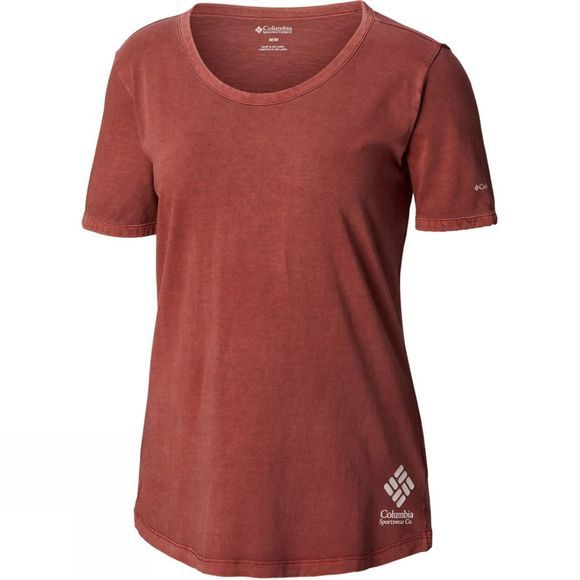 Columbia Womens CSC Pigment Tee Rose Dust