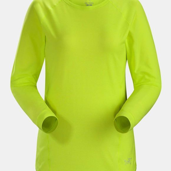 Arc'teryx Womens Tolu Long Sleeve Top Electrolyte