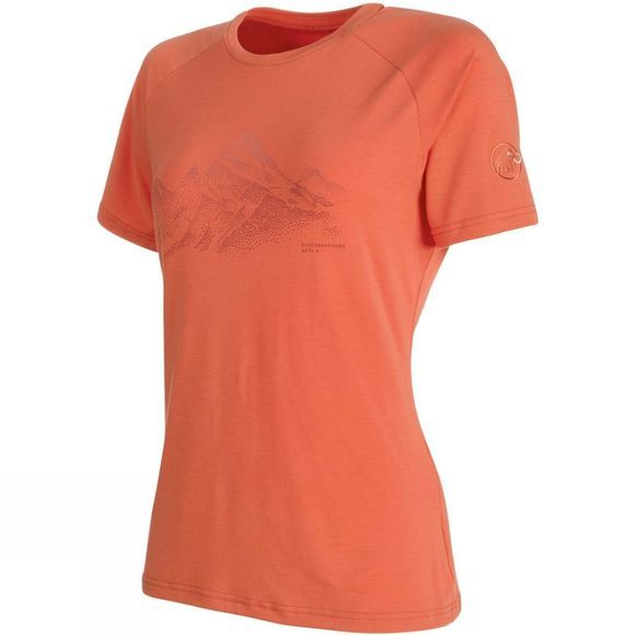 Mammut Womens Mountain T-Shirt Barberry