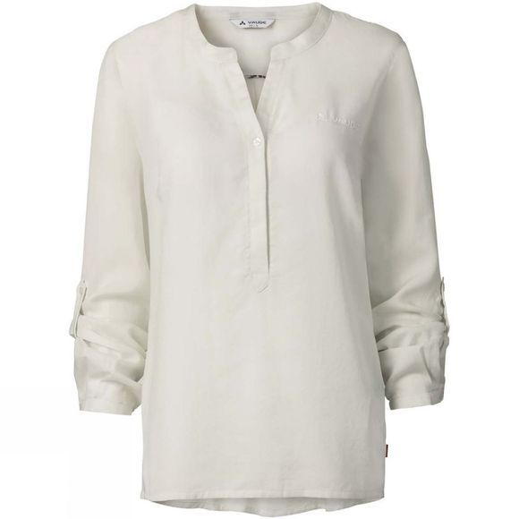 Vaude Womens Atena Long Sleeve Shirt Offwhite Uni