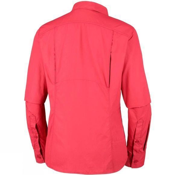Columbia Womens Silver Ridge 2.0 Long Sleeve Red Coral