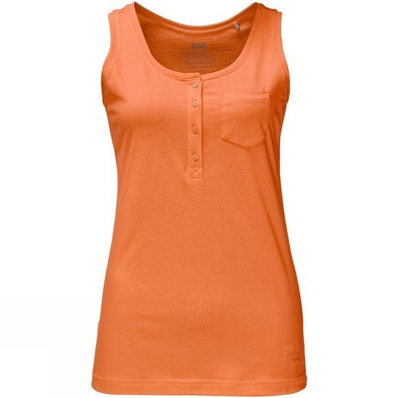 Jack Wolfskin Womens Essential Top Papaya