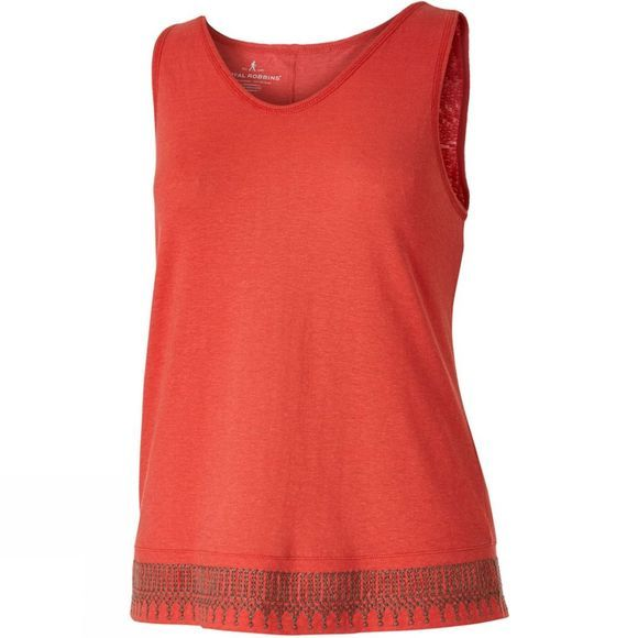 Royal Robbins Womens Flynn Tank Dark Coral