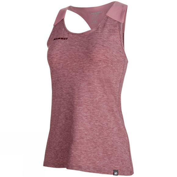 Mammut Womens Wall Top Merlot Melange-Rose