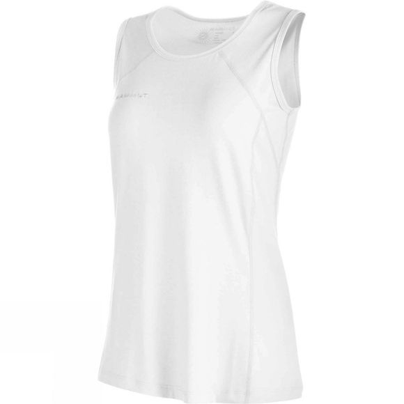 Mammut Womens Trovat Top White