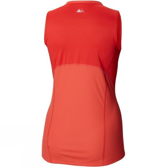 Columbia Womens Titan Ultra II Sleeveless Red Coral, Cherrybomb