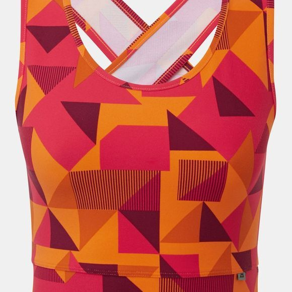Mountain Equipment Womens Bahia Vest Orange Sherbert