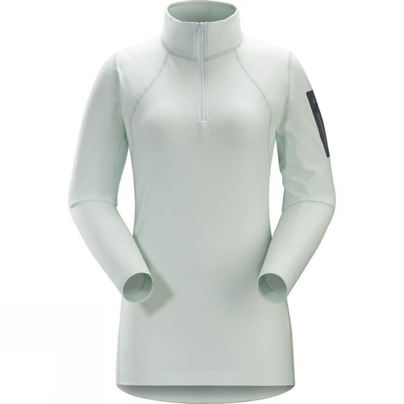 Arc'teryx Women's RHO LT Zip Neck Dew Drop