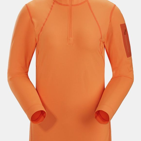 Arc'teryx Women's RHO LT Zip Neck Awestruck